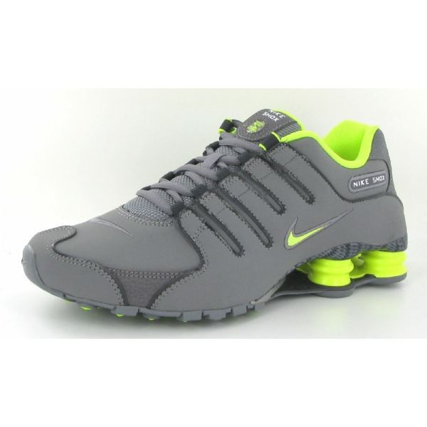 latest first look clearance sale Chaussures Nike Shox NZ EU Gris Gris - Achat / Vente basket ...