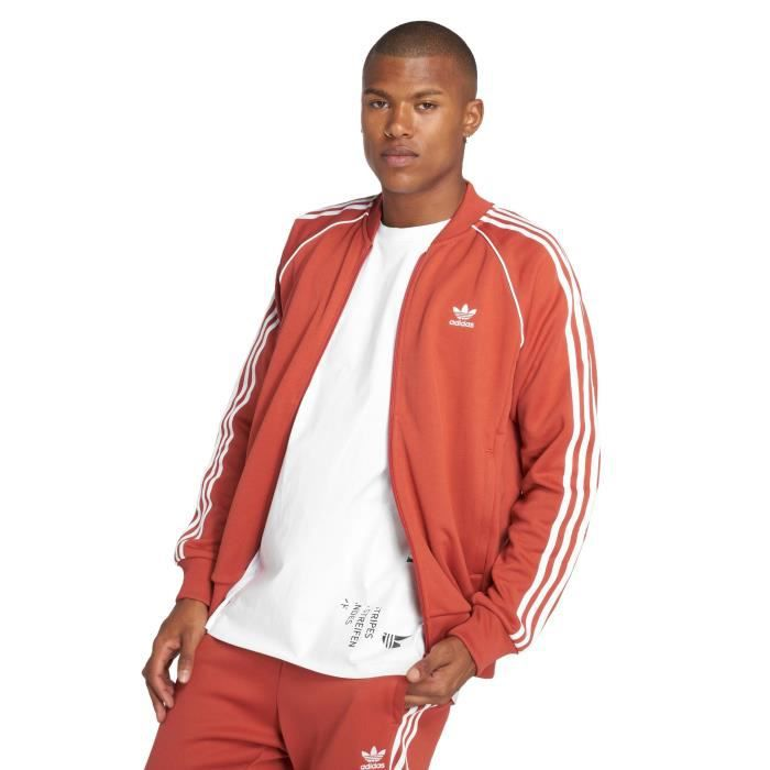 veste adidas homme orange