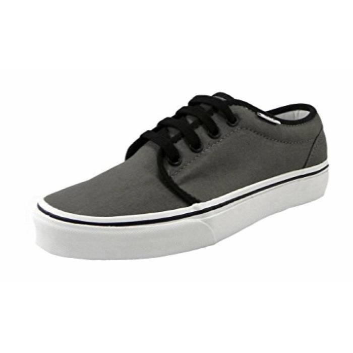 Men's Vans 41 106 PewtergrayBlack Skate Ox5jv Taille Sneakers Vulcanized Shoes white K1JlFc