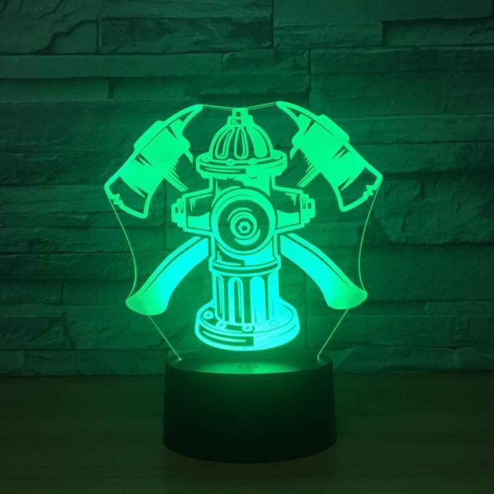 Talky Gants Haches Lampe Playmobil Lot Accessoires City Pompiers Casque