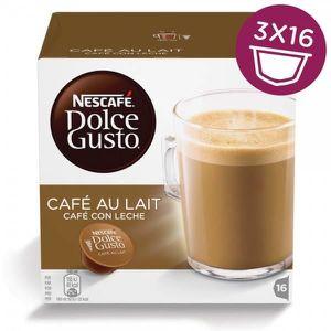 CAFÉ NESCAFÉ DOLCE GUSTO Lot de 3 paquets de Café au la