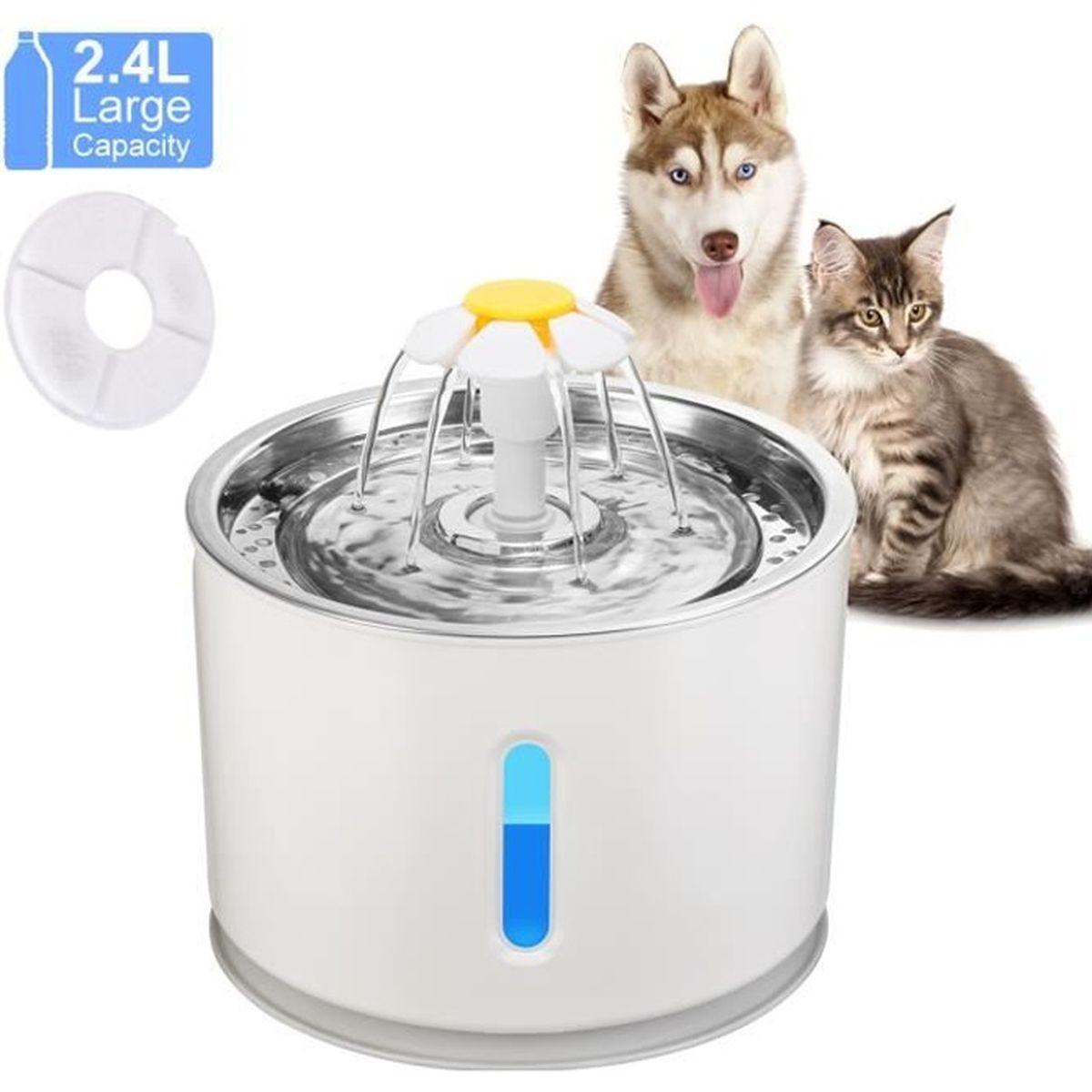Consommation Fontaine À Eau fontaine a eau pour chien et chat