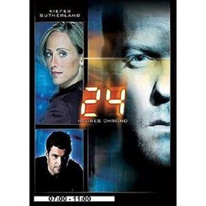 DVD SÉRIE 24 HEURES CHRONO - SAISON 4 - DVD 1-07:00-11:00