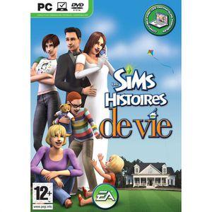 JEU PC LES SIMS: HISTOIRES DE VIE / Jeu PC