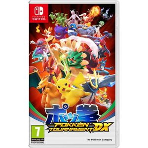 NINTENDO SWITCH Pokkén Tournament DX Jeu Switch