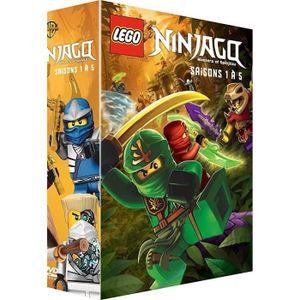 DVD DESSIN ANIMÉ DVD LEGO Ninjago, Les maîtres du Spinjitzu - Saiso