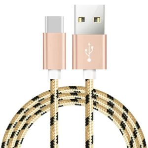 CÂBLE TÉLÉPHONE [1 M] USB Type C Câble Pour Sony Xperia L1 Nylon T