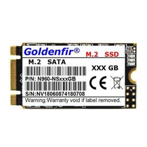 DISQUE DUR SSD Goldenfir Disque Dur SSD 512 Go M.2 SATA 2242 SSD