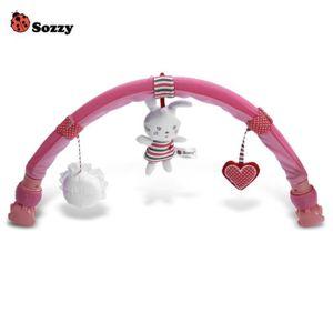 POUSSETTE  Sozzy Forme Clips Poussettes Lapin tour Bracelet J