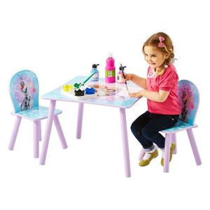 TABLE ET CHAISE LA REINE DES NEIGES Ensemble Table Et 2 Chaises