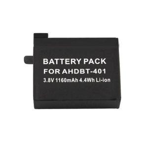 BATTERIE APPAREIL PHOTO 3.8V 1160mAh Batterie pour GoPro Hero 4 AHDBT-401