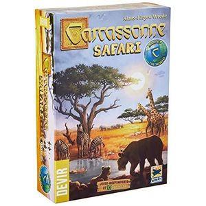 JEU SOCIÉTÉ - PLATEAU Devir- Carcassonne Safari - Jeu de société - Coule