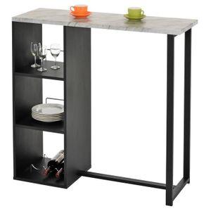 MANGE-DEBOUT Table haute de bar PIAVA mange-debout comptoir ave