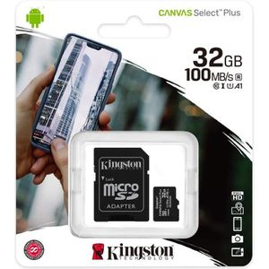 CARTE MÉMOIRE KINGSTON Canvas Select Plus SDCS2 32Go 32 go Micro