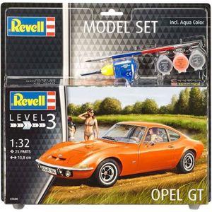 VOITURE À CONSTRUIRE REVELL Model-Set Opel GT - Maquette