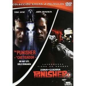 DVD FILM The Punisher + Punisher: War Zone (PACK COLECCION