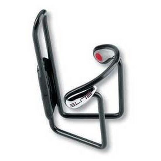 noir Elite Ciussi Gel Vélo-Potable Porte-bouteille en aluminium