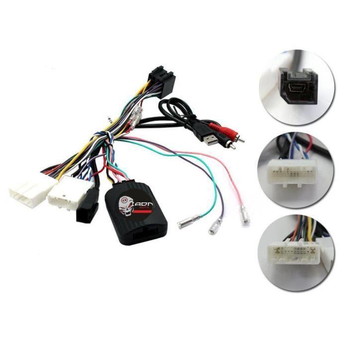 Interface Commande au volant NS11 compatible Nissan ap14 Centrale seule