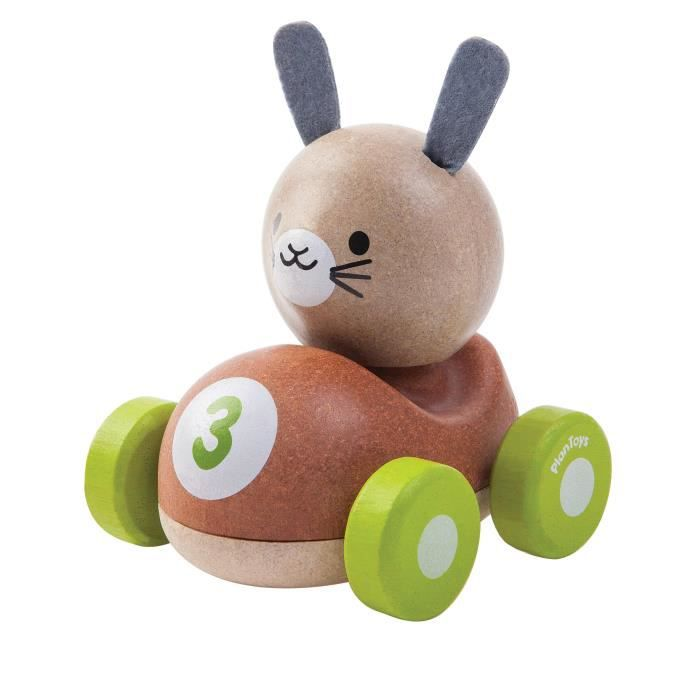 PLAN TOYS Bunny le Lapin de Course