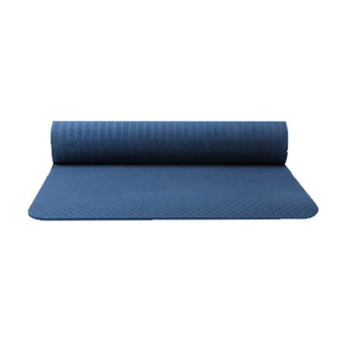 Tapis de yoga classique Yoga Mat Pro TPE Eco Friendly Antiderapant Fitness Tapis d'exercice Produit de yoga 20