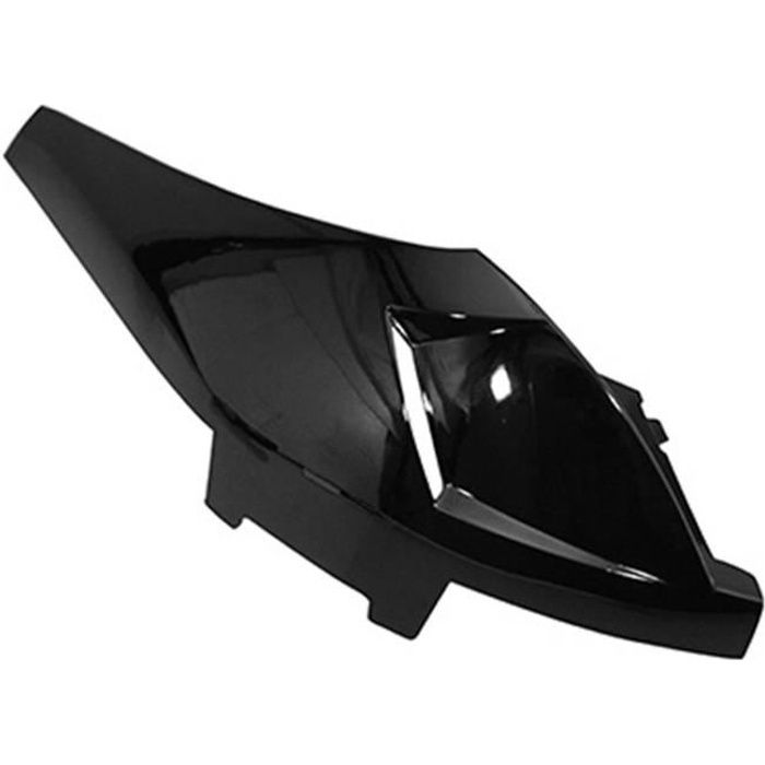 KIT CARROSSERIE CARENAGE-COQUE AR SCOOT ADAPTABLE PEUGEOT 50 LUDIX NOIR BRILLANT GAUCHE -P2R- P2R (