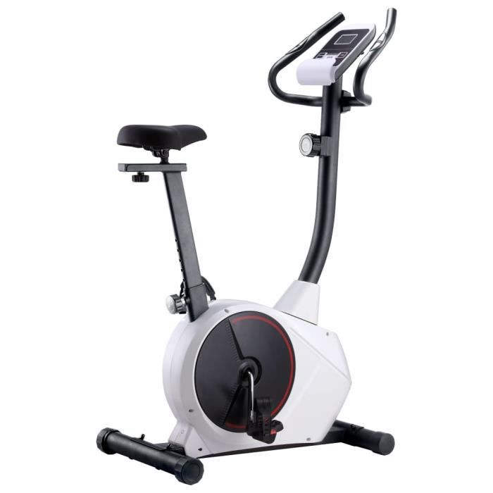 Vélo magnétique d'Vélo d'appartement vélo d'intérieur à 8 niveaux salle de gym cardio Fitness - Vélo Biking spinning - avec mesure