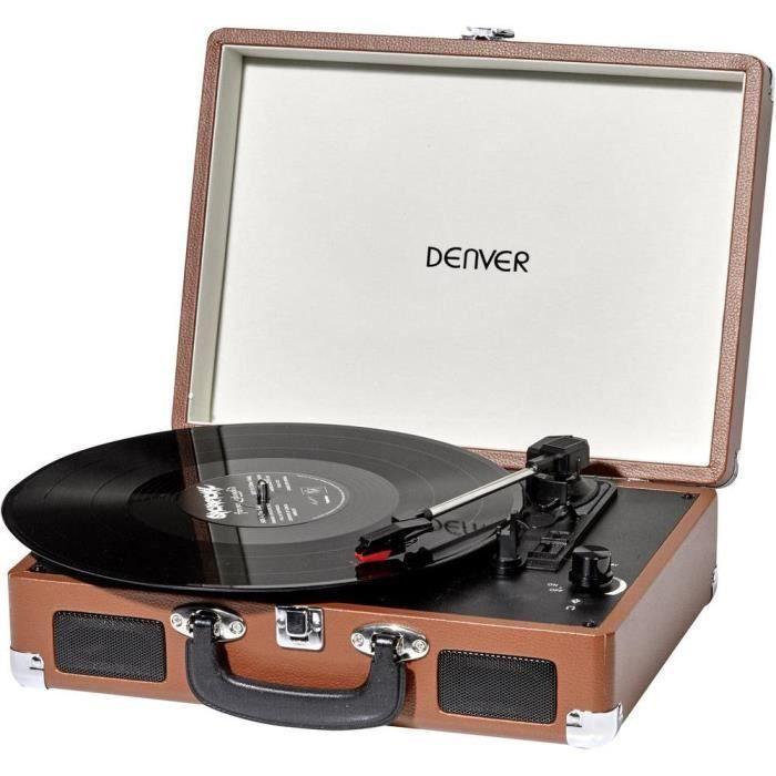 Tourne-disque USB Denver
