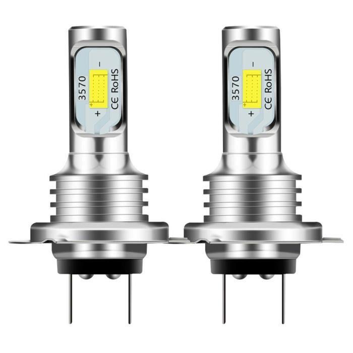 Émettre de la Couleur Blanc 2 * H7 LED CANBUS PHARE H7 LED LO FAISCEAU AMPOULES 6000K Blanc imperméable d'IP