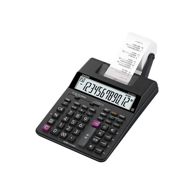 CASIO Calculatrice imprimante HR150 RCE + Adapt. noire