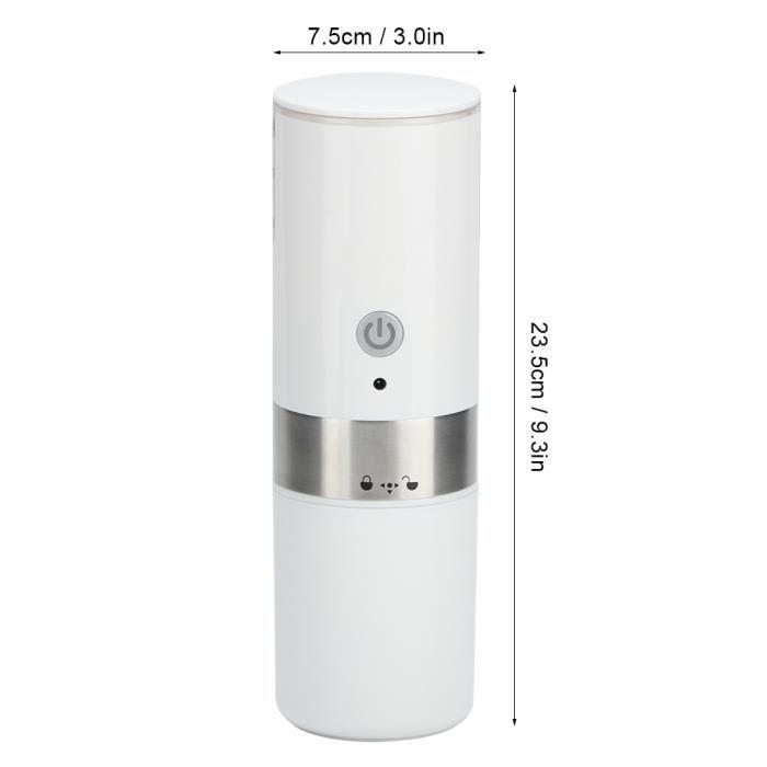 Machine à café automatique à capsules de café domestique mini machine à café électrique portable USB blanc-ROE