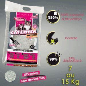Litière Bentonite parfumé 7 Kg