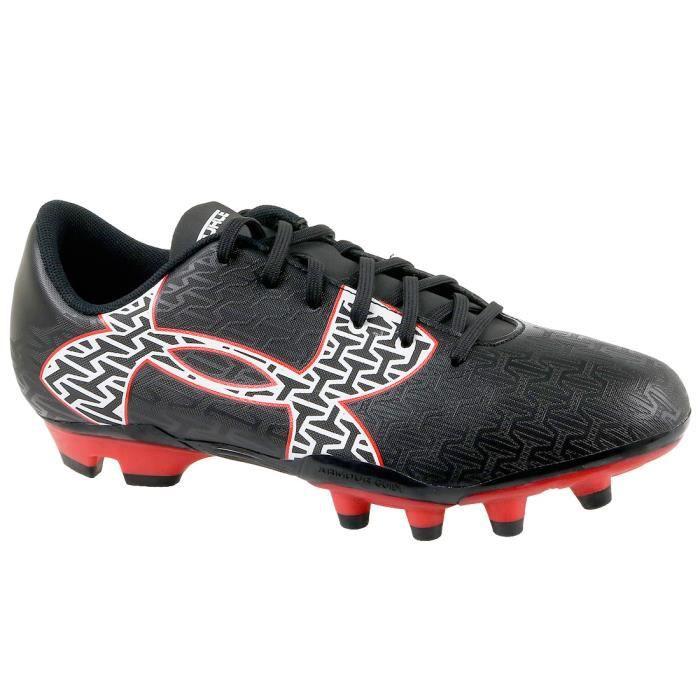 UA Clutchfit Force 2.0 FG Jr 1264205-006 Enfant mixte Chaussure de football Noir