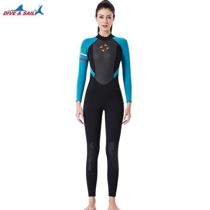 Maillot de bain femme combinaison néoprène 3mm combinaison de plongée maillot de bain femme combinaison de plongée surf