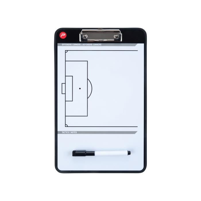 PURE2IMPROVE Coachboard Football - Vert/Blanc
