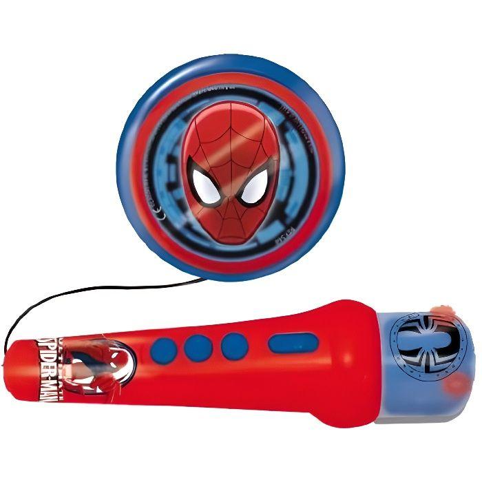 SPIDERMAN Microphone et haut parleur