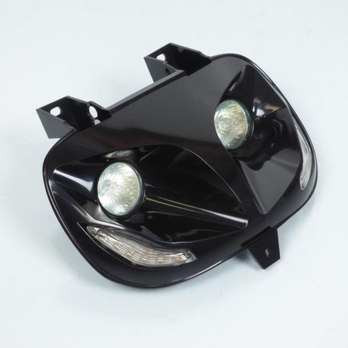 Double optique avant Replay avec LED scooter MBK 50 Booster Spirit 1999 à 2003