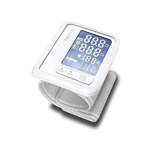 Terraillon Tensiomètre Poignet Connecté Pour Smartphone/Tablette Calcul de la Tension Artérielle et du Rythme Cardiaque 1 Uti