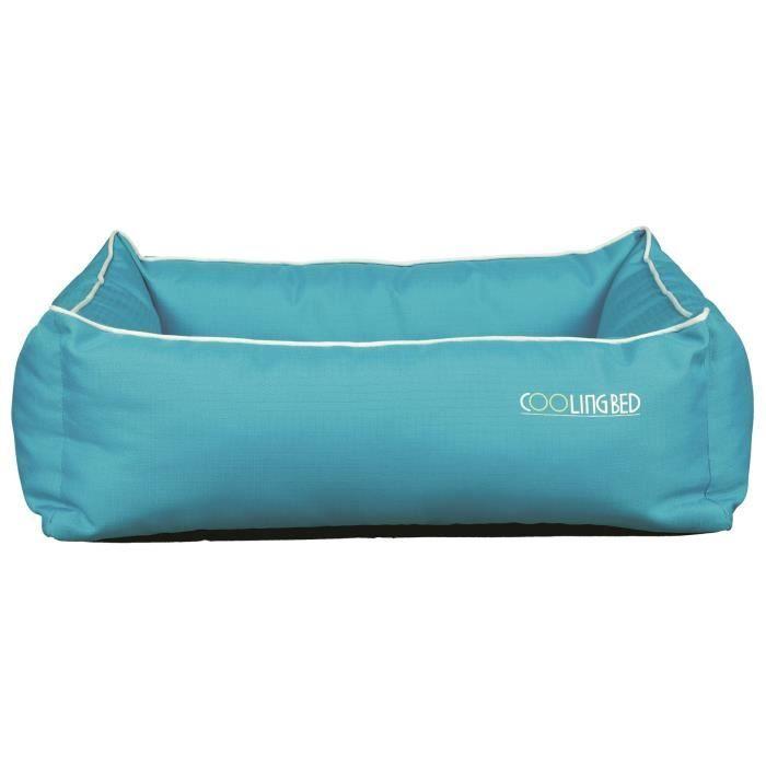 TRIXIE Lit rafraîchissant Cool Dreamer - 65x50cm - Bleu - Pour chien