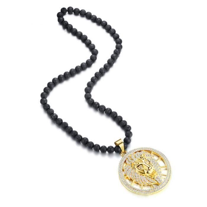un collier pour homme