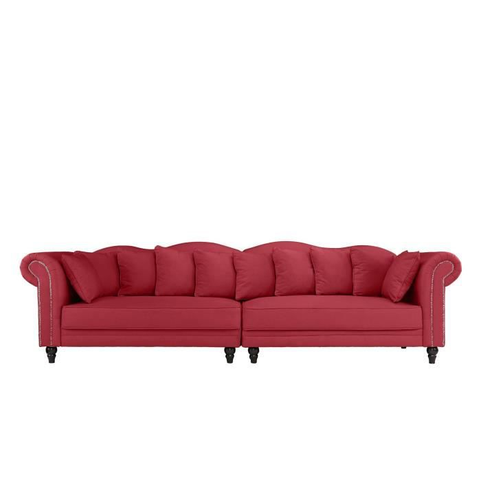 canap sofa divan morgane canap chesterfield double extra large