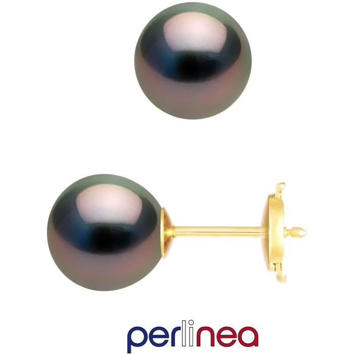 Boucle d'oreille PERLINEA Boucles d'Oreilles Perles de Culture de T