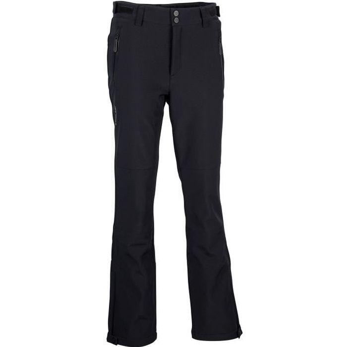 HAINES Pantalon Softshell Femme Impermeable Pantalon Randonn/ée Hiver Coupe-Vent Polaire Doublure Chaud Pantalon de Ski