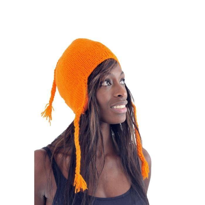 BONNET - CAGOULE Fantazia - Bonnet Nepal Laine - Bonnet  M Orange