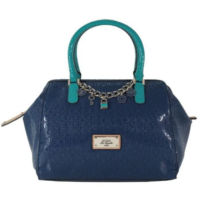 Sac à main Guess Capri Cruz Bleu