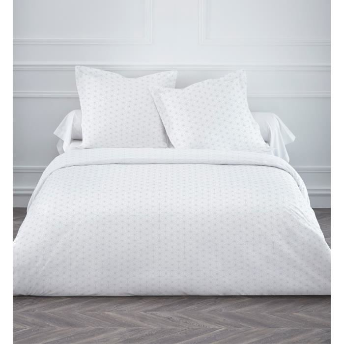 Today housse de couette kalypso 220x240 cm 2 taies for Couette blanche