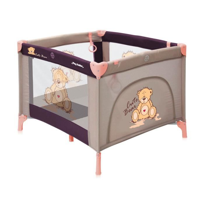 parc b b pliable parc pliant pour bebe lorelli achat. Black Bedroom Furniture Sets. Home Design Ideas