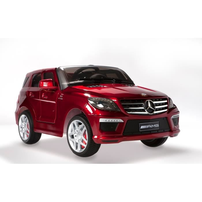 mercedes ml63 amg rouge m tallis e voiture lectr achat vente voiture enfant cdiscount. Black Bedroom Furniture Sets. Home Design Ideas