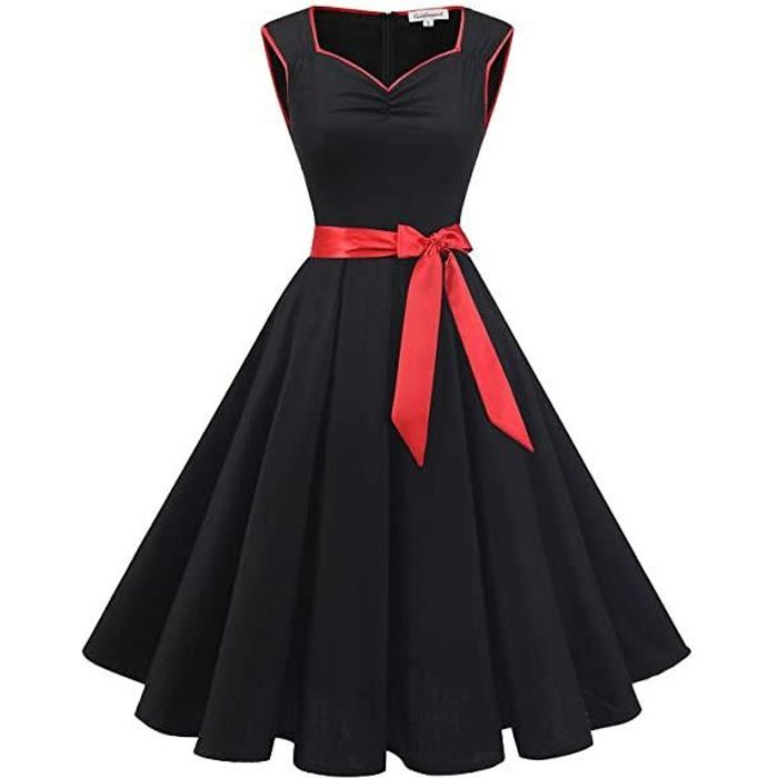 Robe Pin Up 50 Achat Vente Pas Cher