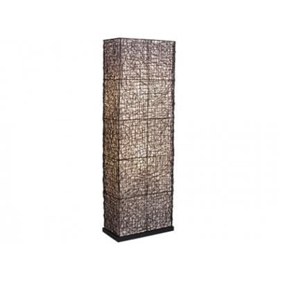lampadaire sheherazade en rotin cm achat vente. Black Bedroom Furniture Sets. Home Design Ideas
