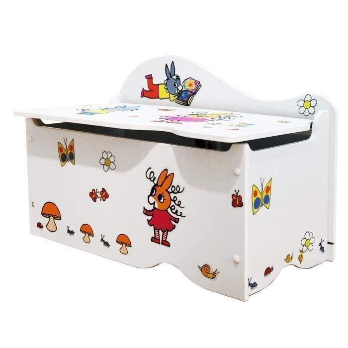 coffre jouets ne trotro personnaliser stickers achat vente coffre jouets. Black Bedroom Furniture Sets. Home Design Ideas
